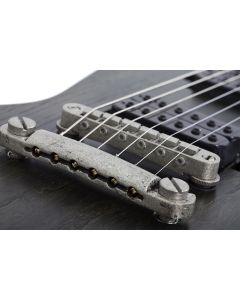 Schecter E-1 Apocalypse Electric Guitar in Rusty Grey