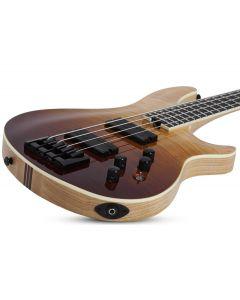 Schecter SLS ELITE-4 Electric Bass in Antique Fade Burst