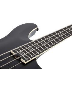 Schecter SLS ELITE-4 Evil Twin Electric Bass in Satin Black