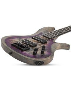Schecter RIOT-4 Electric Bass in Satin Aurora Burst