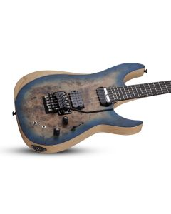Schecter Reaper-6 FR S Electric Guitar in Satin Sky Burst