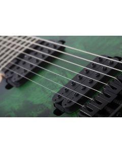 Schecter MK-7 MK-III Keith Merrow Standard Left Handed Guitar Toxic Smoke Green