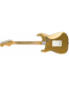 Fender Custom Shop 1958 Heavy Relic Stratocaster  Aged HLE Gold Electric Guitar