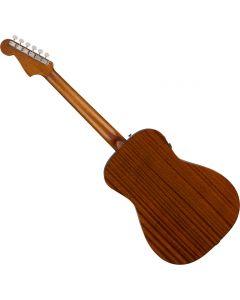 Fender Malibu Classic Acoustic Guitar Hot Rod Red Metallic