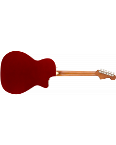 Fender Newporter Player LH  Candy Apple Red Acoustic Guitar
