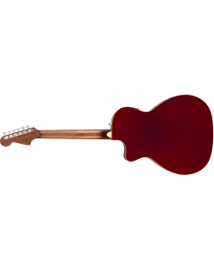 Fender Newporter Player  Candy Apple Red Acoustic Guitar