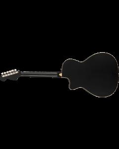 Fender Newporter Special  Matte Black Acoustic Guitar
