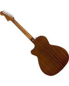 Fender Newporter Classic Acoustic Guitar Hot Rod Red Metallic