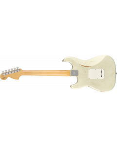 Fender Custom Shop 1968 Relic Stratocaster  Aged Olympic White Electric Guitar