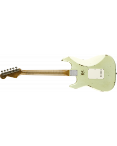 Fender Custom Shop Limited Roasted Tomatillo Strat Relic  Aged Tomatillo Green Electric Guitar