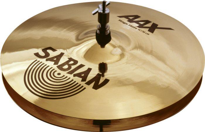 """Sabian 14"""" AAX Stage Hats Brilliant Finish 21402XB"""
