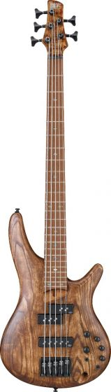 Ibanez SR Standard SR655E 5 String Antique Brown Stained Bass Guitar SR655EABS
