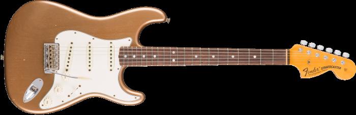 Fender Custom Shop 1969 JOURNEYMAN RELIC STRATOCASTER - ROSEWOOD  Aged Firemist Gold Electric Guitar 1546080853