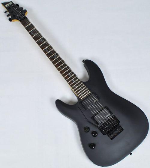 Schecter Damien-6 FR Left Handed Electric Guitar Satin Black sku number SCHECTER1608
