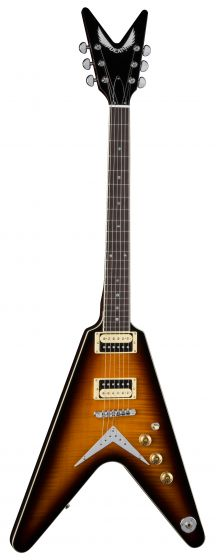 Dean V 79 Flame Top Trans Brazilia Electric Guitar V 79 TBZ V 79 TBZ