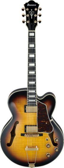 Ibanez AF Artcore Expressionist Antique Yellow Sunburst AF95FM AYS Hollow Body Electric Guitar AF95FMAYS