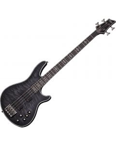 Schecter Hellraiser Extreme-4 Electric Bass See Thru Black Satin