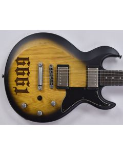 Schecter Signature Zacky Vengeance ZV 6661 Electric Guitar in Aged Natural Satin Black Burst Finish