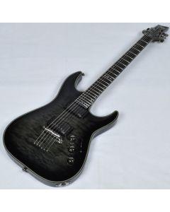 Schecter Hellraiser Hybrid C-1 Electric Guitar in Trans Black Burst
