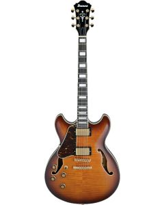 Ibanez AS Artcore Expressionist Left Handed Violin Sunburst AS93FML VLS Hollow Body Electric Guitar