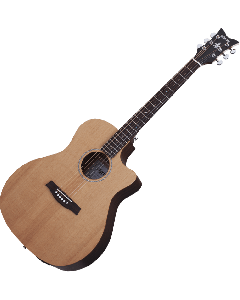 Schecter Deluxe Acoustic Guitar in Natural Satin Finish