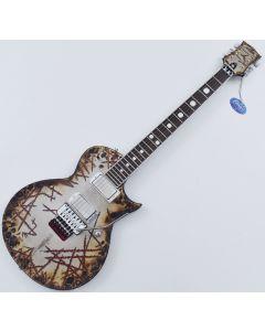 ESP E-II Richard Z RZK-II Burnt Electric Guitar with Case