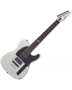 ESP E-II T-B7 Baritone Electric Guitar Snow White