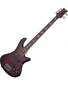Schecter Stiletto Extreme-5 Electric Bass Black Cherry