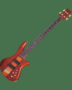 Schecter Stiletto Studio-4 FF Electric Bass in Honey Satin Finish