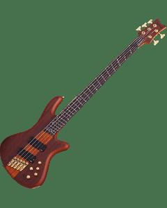 Schecter Stiletto Studio-5 FF Electric Bass in Honey Satin Finish