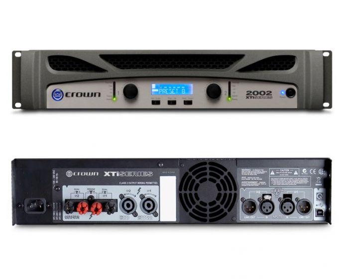 Crown XTi 2002 Two-Channel 800W Power Amplifier NXTI2002-U-US