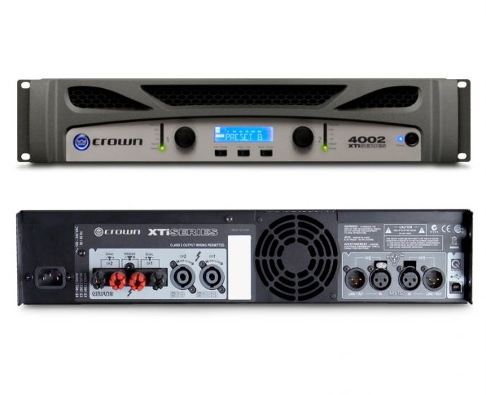 Crown XTi 4002 Two-Channel 1200W Power Amplifier NXTI4002-U-US