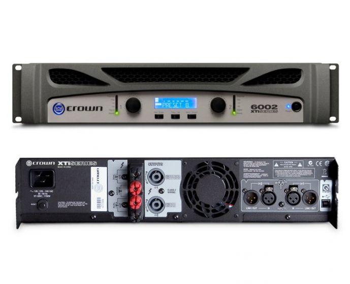 Crown XTi 6002 Two-Channel 2100W Power Amplifier NXTI6002-U-US