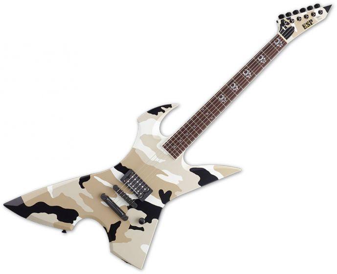 ESP Max Cavalera RPR Electric Guitar in Black Desert Camo EMAXRPRBDC