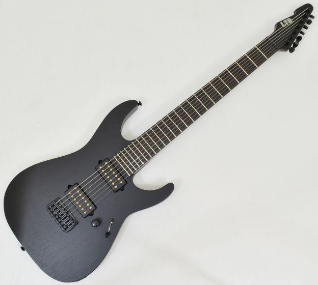 ESP LTD Alex Wade AW-7 Baritone 7 String Guitar Black Satin B-Stock sku number LAW7BOGBLKS.B