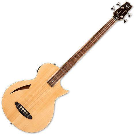 ESP LTD Thinline TL-4 Semi Hollow Electric Bass Natural LTL4NAT