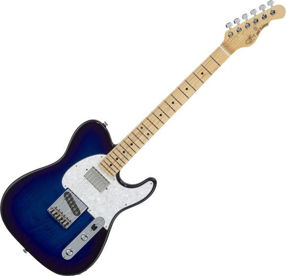 G&L Fullerton Deluxe ASAT Classic Bluesboy Electric Guitar Blueburst FDASTCB-BLB-MP