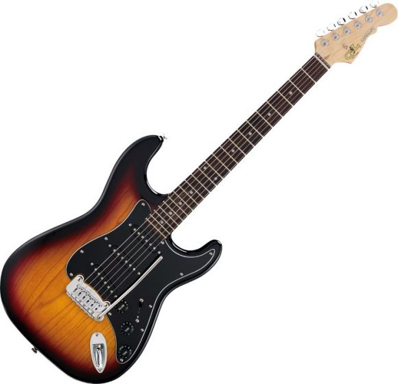 G&L Tribute Legacy Guitar in 3-Tone Sunburst Finish sku number TI-LGY-3TS-RW