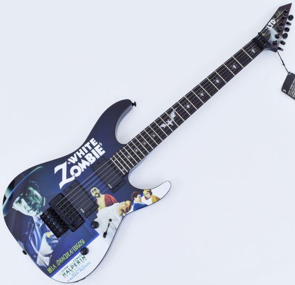 ESP LTD KH-WZ Kirk Hammett White Zombie Guitar Black B-Stock LKHWZ.B