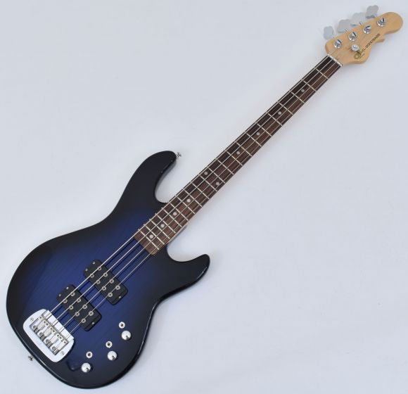 G&L Tribute L-2000 Bass in Blueburst with Rosewood Fingerboard Demo TI-L20-RW-BLB.B