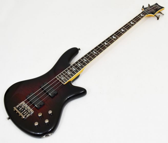 Schecter Stiletto Extreme-4 Electric Bass Black Cherry B-Stock 0326 sku number SCHECTER2500.B 0326
