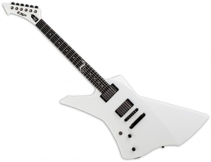 ESP James Hetfield Snakebyte Signature Left-Handed Electric Guitar Snow White ESNAKEBYTESWLH