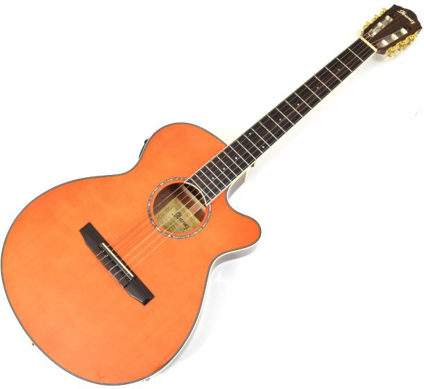 Ibanez AEG10NII Classical Acoustic Electric Guitar Tangerine B-Stock 0677 AEG10NIITNG.B 0677