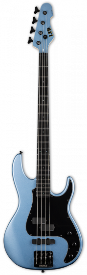 ESP LTD AP-4 Pelham Blue 4 String Bass Guitar LAP4PB