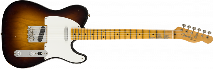 Fender Custom Shop 1956 Telecaster Journeyman Relic  Wide-Fade 2-Color Sunburst Electric Guitar 9235000839