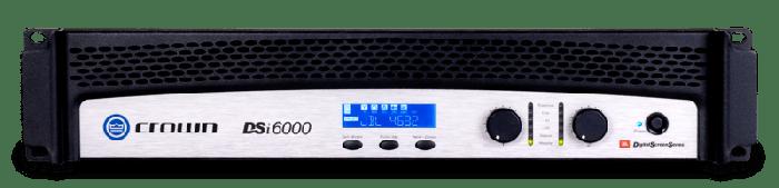 Crown Audio DSi 6000 Two-Channel 2100W Power Amplifier DSi6000