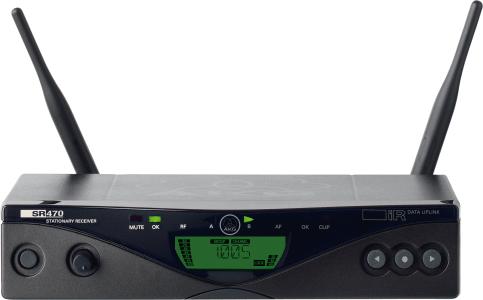 AKG SR470 BD1 Professional Wireless Stationary Receiver 3300H00010