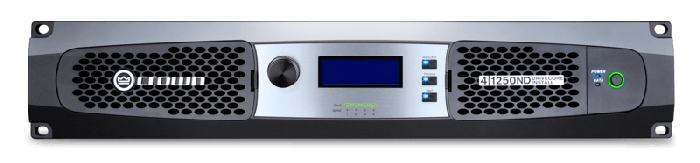 Crown Audio DCi 4|1250ND Four-channel 1250W @ 4Ω Power Amplifier with AVB 70V/100V GDCI4X1250ND-U-US