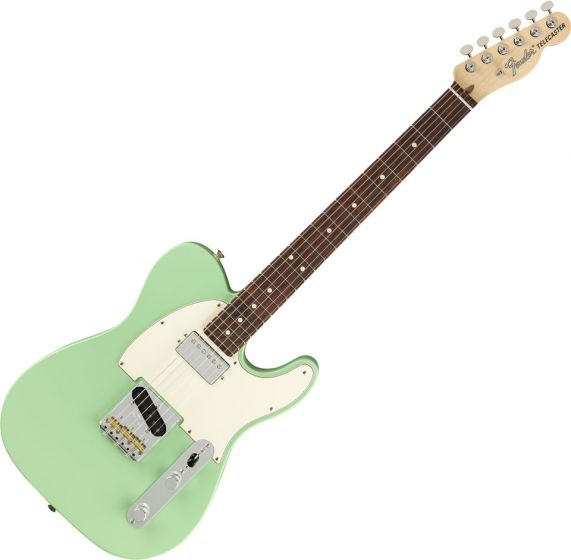 Fender American Performer Telecaster Hum Electric Guitar Satin Surf Green 0115120357