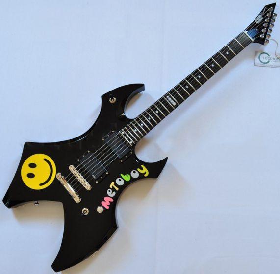 ESP Metin Türkcan Metoboy Electric Guitar with Case sku number 3657DCGLMETOBOYBLK